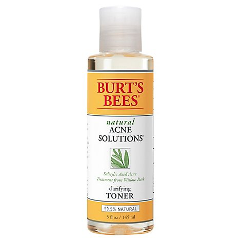 Burts Bees Natural Acne Solutions Toner Clarifying - 5 Fl. Oz.