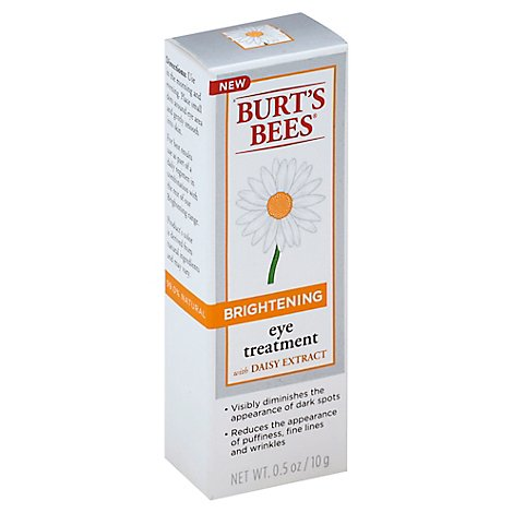Burts Bees Eye Treatment Brightening with Daisy Extract - 0.5 Oz