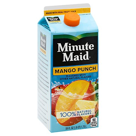 Minute Maid Juice Mango Punch Carton - 59 Fl. Oz.