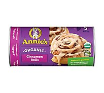 Annies Homegrown Rolls Cinnamon Organic with Icing - 17.5 Oz
