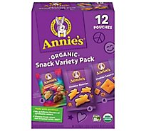 Annies Homegrown Snack Time Baked Snack Crackers & Graham Snack Variety Pack- 12-11 Oz