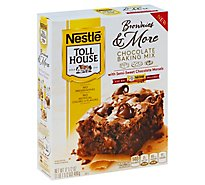 Toll House Brownies & More Baking Mix Chocolate with Semi-Sweet Chocolate Morsels - 17.5 Oz