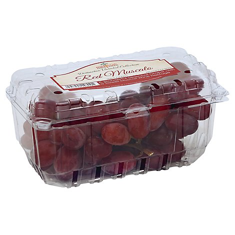 Grapes Red Muscato - 2 Lb
