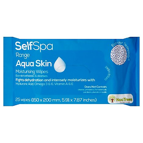Nootrees Wipe Skin Aqua - 1  Each