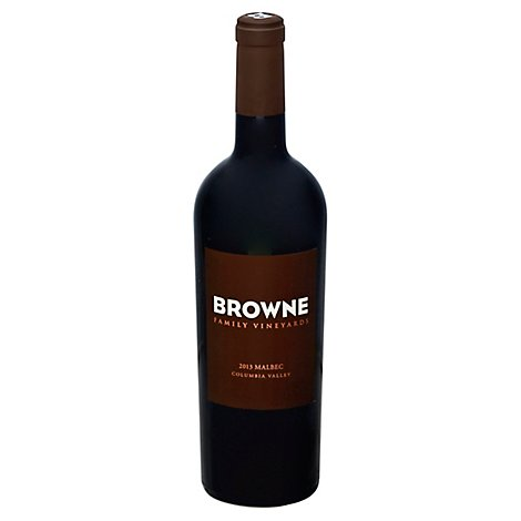 Browne Family Vineyards Malbec Columbia Valley - 750 Ml