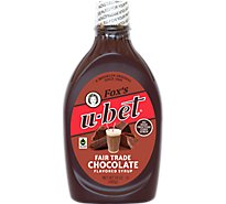 U-bet Syrup Chocolate All Natural - 24 Oz