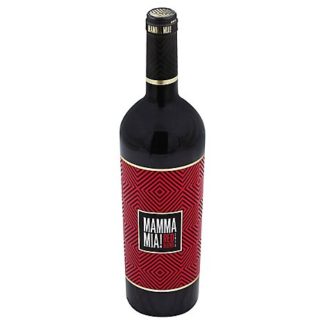 Mamma Mia Wine Red Blend Vino Rosso Italy - 750 Ml
