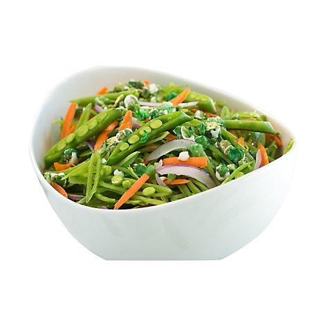 Fresh Cut Salad Cup Asian Snap Pea - 8 Oz (190 Cal)