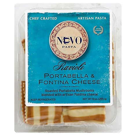 Ravioli Portabella And Fontina - 9 Oz