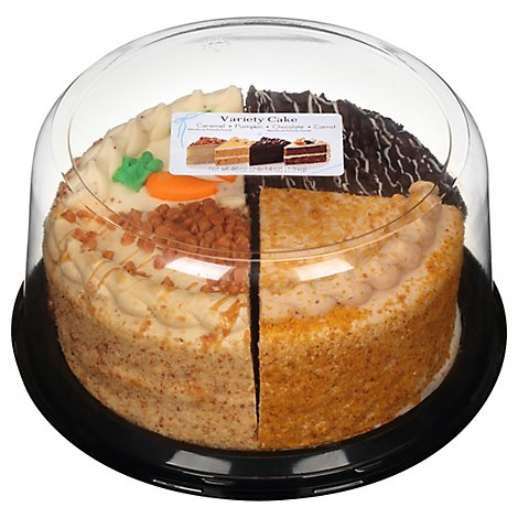 Bakery Cake 8 Inch 2 Layer Variety Autumn - Each