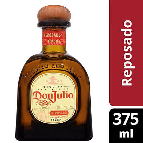 Don Julio Tequila Reposado 80 Proof - 375 Ml