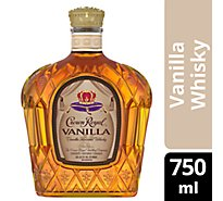 Crown Royal Whisky Flavored Vanilla 70 Proof - 750 Ml