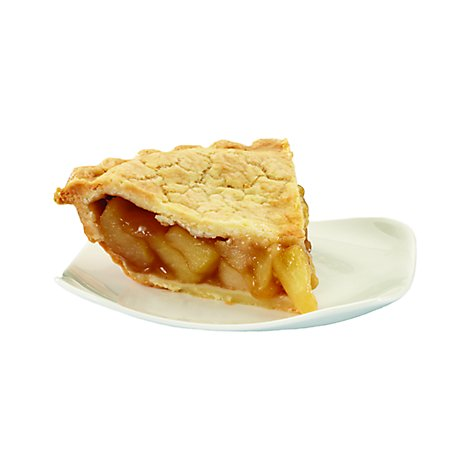 Bakery Pie 1/4 Pie Apple - Each (600 Cal)