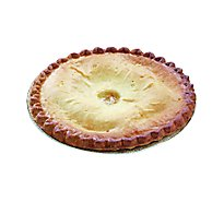 Bakery Pie Peach 1/2 Sheet - Each