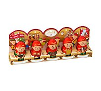 Lindt Milk Chocolate Mini Elf Sleeve 5 Count - 1.7 Oz