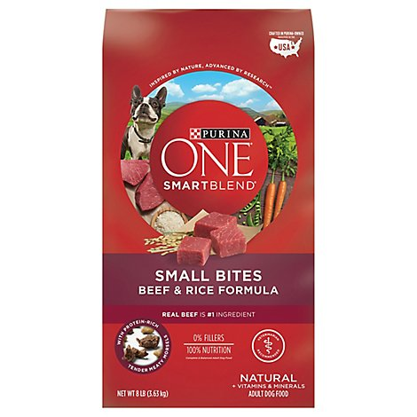 One Dog Food Dry Smartblend Beef & Rice - 8 Lb