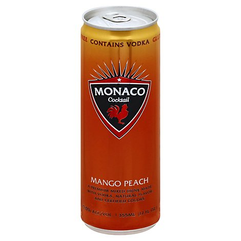 Monaco Mango Peach Wine - 12 Fl. Oz.