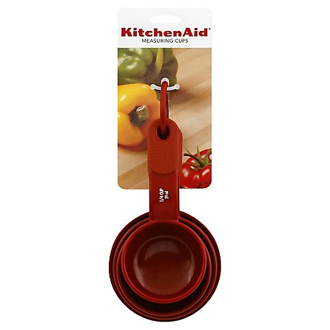 KitchenAid Measuring Cups Red - Each