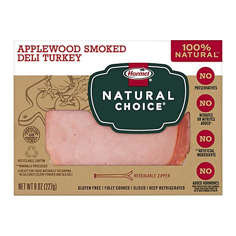 Hormel Natural Choice Applewood Smoked Turkey - 8 Oz