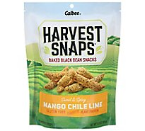 Harvest Snaps Black Bean Mango Chile Lime - 3 Oz