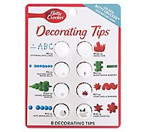 Betty Crocker Decorating Tips - 8 Count