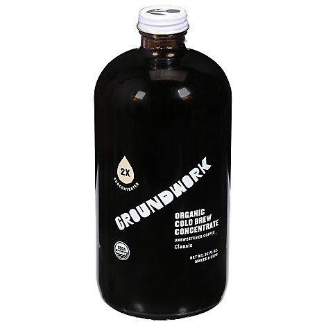 Groundwork Cold Brew Concentrate - 32 Fl. Oz.