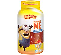 Lil Critters Multivitamin Complete Despicable Me Gummies Natural Fruit Flavors - 190 Count