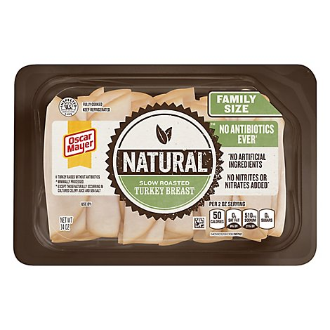 Oscar Mayer Natural Tky Breast Shaved - 14 Oz