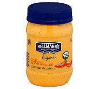 Hellmanns Organic Mayonnaise Spicy Chipotle - 15 Oz