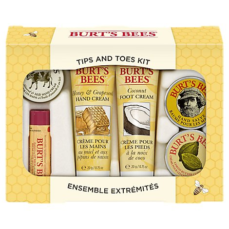 Burts Bees Tips and Toes Kit - Each