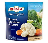 Birds Eye Steamfresh Vegetables Mixtures Broccoli Cauliflower & Carrots - 10.8 Oz
