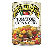 Margaret Holmes Tomatoes Okra And Corn - 14.5 Oz