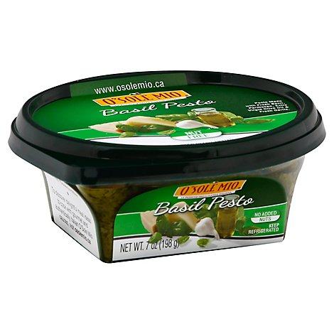 Osm Pesto Basil Sauce 7 Oz Safeway