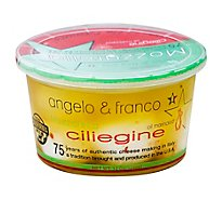 Angelo & Franco Marinated Ciliegine - 12 Oz