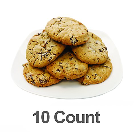 Bakery Cookies Jumbo Chocolate Chunk 10 Count - Each