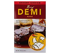 Savory Choice Demi Glace Beef Envelope - 2.6 Oz