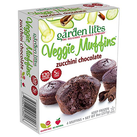Garden Lites Muffins Chocolate Individually Wrapped - 4 Count