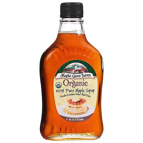 Maple Grv Frm Org Mag Mpl Syrup - 8.5 Oz
