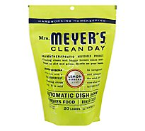 Mrs. Meyers Clean Day Automatic dish pacs Lemon Verbena Dishwasher Pods 20 pods
