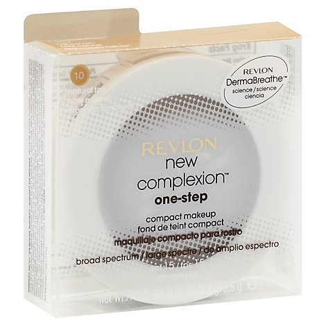 Revlon New Complexion One Step Make Up Natural Tan - .35 Oz