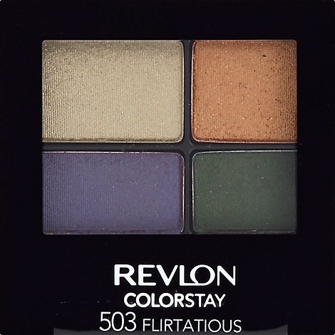 Revlon C/S Eye Shadow Quad Flirtatious - 0.16 Oz