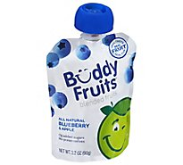 Buddy Fruits Original Pure Blended Fruit Apple & Blueberry - 3.2 Oz