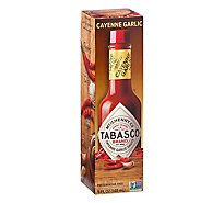 TABASCO Sauce Pepper Garlic Flavor - 5 Fl. Oz.