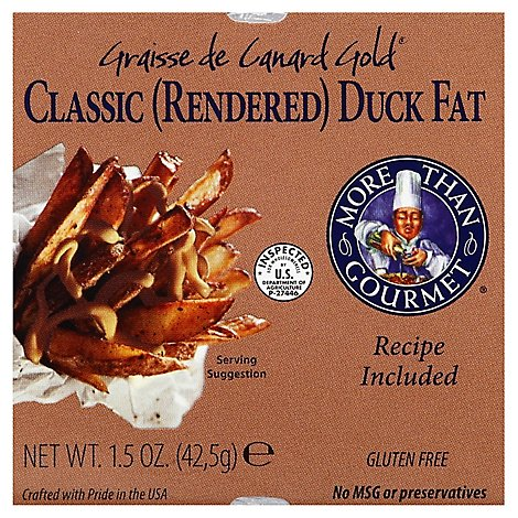 More Than Gourmet Duck Fat Classic Rendered - 1.5 Oz