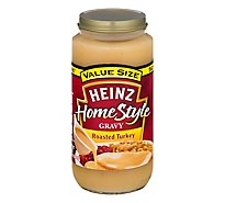 Heinz HomeStyle Gravy Roasted Turkey Value Size - 18 Oz