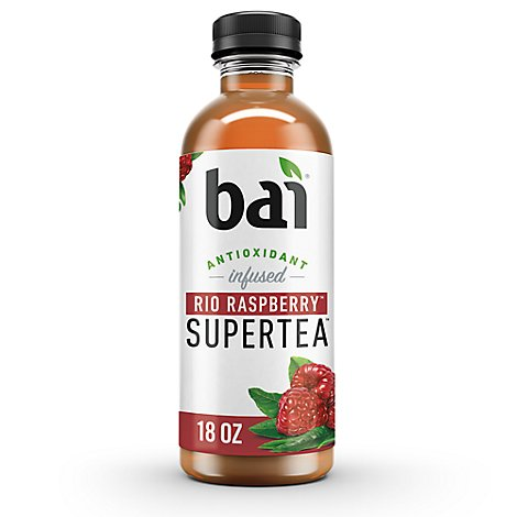 Bai Antioxidant Infused Tea Iced Supertea Rio Raspberry - 18 Fl. Oz.