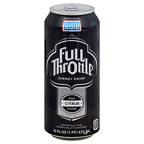 Full Throttle Energy Drink Citrus - 16 Fl. Oz.