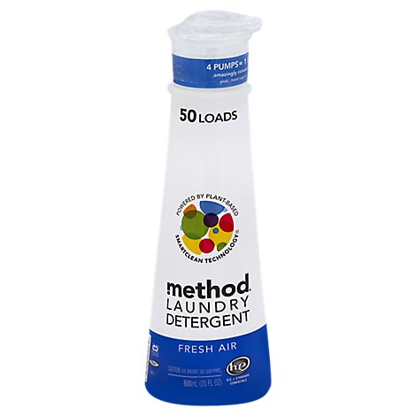 Method Laundry Detergent 8X Fresh Air - 20 Fl. Oz.