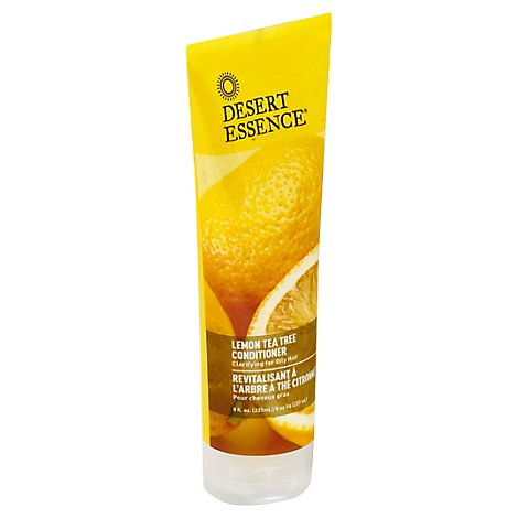 Desert Essence Condtnr Lemon Tea - 8 Oz