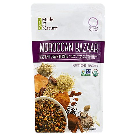 Made In Nature Organic Ancient Grain Fusion Moroccan Bazaar Pouch - 8 Oz
